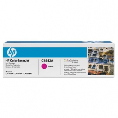 Картридж CB543A для принтеров HP Color LaserJet CP1210/1215/1510/1515