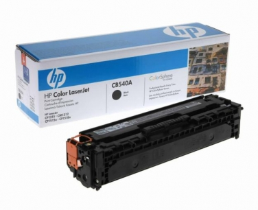 Картридж CB540A для принтеров HP Color LaserJet CP1210/1215/1515/1510